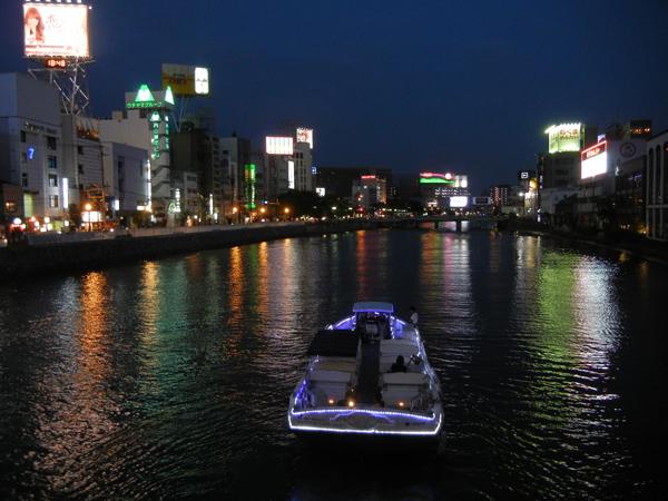 中洲・那珂川沿い